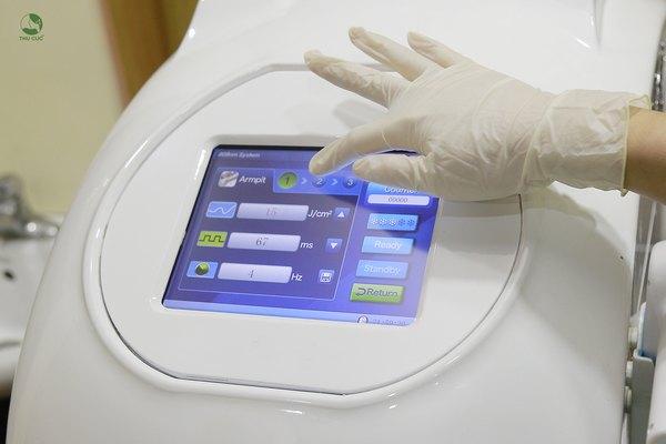 Công nghệ triệt lông Diode Laser là công nghệ tiên tiến nhất hiện nay được Thu Cúc lựa chọn