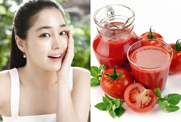 Mẹo chăm sóc da hiệu quả là đừng quên đắp mặt nạ cà chua vào mỗi tối nhé