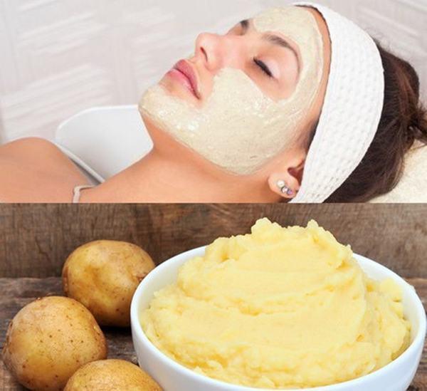 Với nguyên liệu từ khoai tây và sữa tươi đơn giản đã giúp bạn có một mặt nạ đẹp da vô cùng tuyệt vời