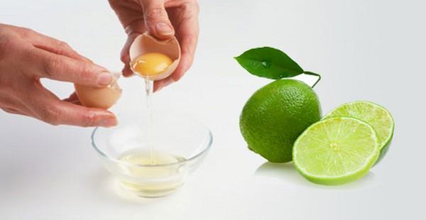 Hỗn hợp lòng trắng trứng gà và chanh có công dụng hiệu quả trong việc làm đẹp, đặc biệt là khâu tẩy da chết