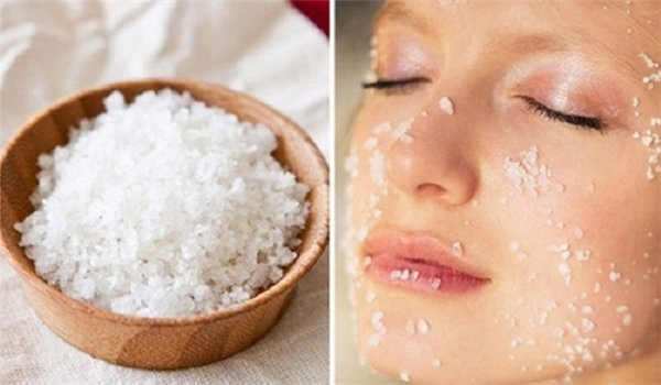 Muối iot giúp làm sạch da, là nguyên liệu tẩy nốt ruồi tại nhà hiệu quả nếu thực hiện công thức này thường xuyên