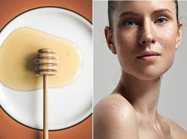 Mật ong cũng là nguyên liệu chữa tàn nhang hiệu quả
