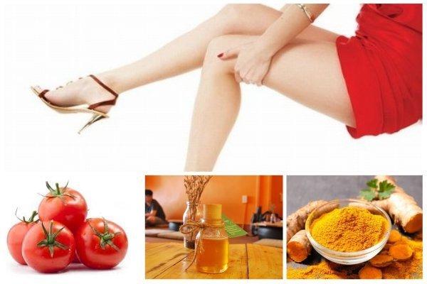 Cách tẩy lông chân bằng cà chua với công thức trên cần chăm chỉ thực hiện