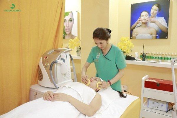 Các liệu trình chăm sóc da tai Thu Cúc rất khoa học và bài bản, giúp lấy lại làn da trẻ trung tươi mới cho các khách hàng.