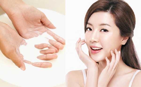 Rửa mặt bằng nước vo gạo có tác dụng làm mờ thâm nám, tàn nhang