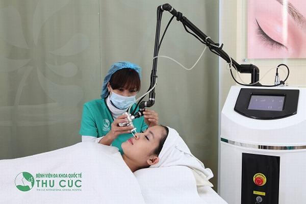 Ngày càng nhiều chị em lựa chọn trị tàn nhang bằng công nghệ cao vì nhanh chóng, hiệu quả