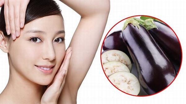 Làn da nám sẽ được khắc phục nhờ cách chữa nám da mặt từ trái cà tím
