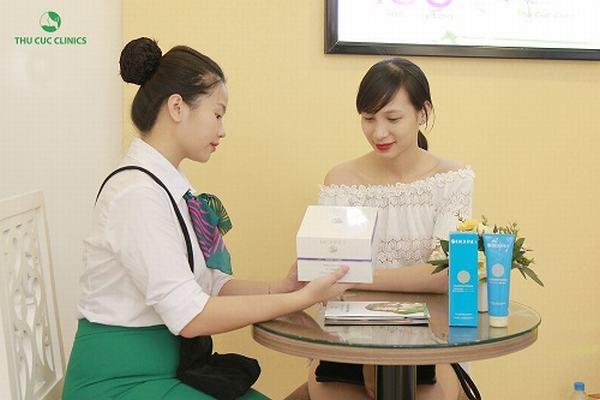 Các buổi điều trị da tại Thu Cúc luôn đạt hiệu quả, mang lại niềm vui cho các quý khách hàng.