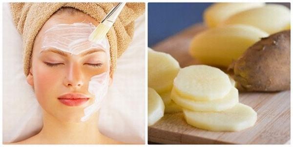 Mặt nạ từ khoai tây sẽ giúp làm mờ vết tàn nhang cực hiệu quả