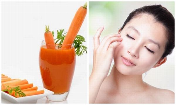 Cà rốt vốn có tác dụng trị nám nhưng ít ai biết tới
