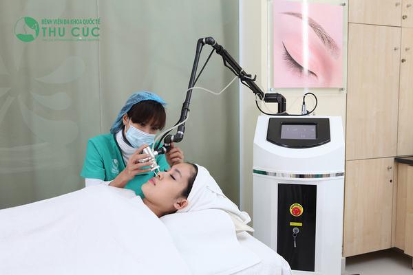 Nốt ruồi được loại bỏ 100% nhờ ứng dụng công nghệ Laser C02