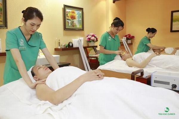 Tại Thu Cúc, các kỹ thuật viên spa sẽ giúp thư giãn tình thần và cơ thể, đồng thời làm đẹp nhanh chóng cho bạn.