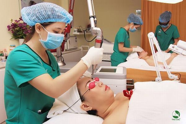 Nám tàn nhang được loại bỏ tới 95% sau điều trị bằng công nghệ cao tại Thu Cúc