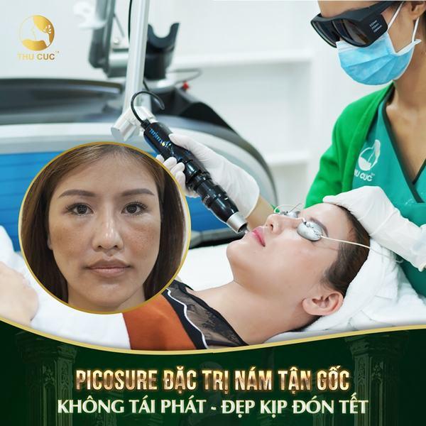 Laser Picosure là công nghệ trị nám sạm da hàng đầu hiện nay bởi sự tân tiến và chất lượng của nó.
