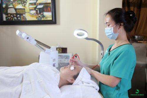 Những liệu trình chăm sóc da tại Thu Cúc đều đem lại kết quả tốt nhất cho khách hàng.